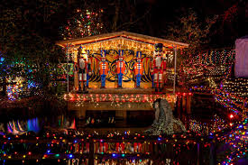 christmas lights train ride vancouver christmas events bright nights stanley park train ride
