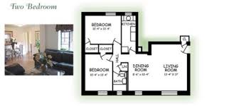 Two Bedroom Design Highland Park Club Apartments Pittsburgh Pa