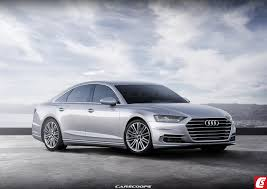 future cars audi u0027s all new a8 luxo saloon grins big for 2018