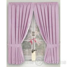Lilac Curtains Lilac Thermal Blackout Black Out Lined Curtain Curtains And