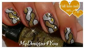 braided nail art how to woven nails gold u0026 silver nail design