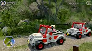 lego jurassic world jeep test lego jurassic world u2013 le jeu des 4 films w3sh com