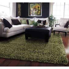 shag rug green rugs ideas