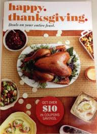 print great coupons new thanksgiving target coupon booklet