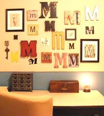 home interior wall decor initial letter wall decor maybehip