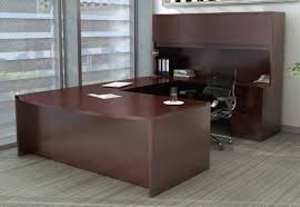 Hutch 3 Eurotech 71 U2033 Bow Front Executive U Group Desk With Hutch 3 Colors