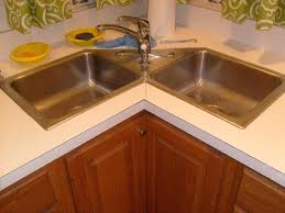 Corner Sink Kitchen  Meetlyco - Corner sink kitchen cabinets