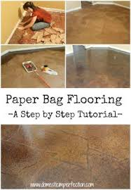 diy kitchen floor ideas flooring made out of paper very interesting concept and the results