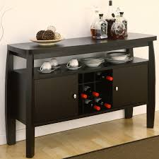 buffet table dining room black buffet table with storage your creativity buffet console