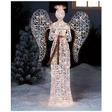 lighted angel christmas decoration lighted christmas angel yard decor psoriasisguru com