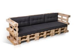sofa paletten paletti 3 sitzer sofa aus paletten natur