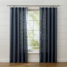Kitchen Kitchen Curtain Sets Standard by Curtain Panels And Window Coverings Crate And Barrel
