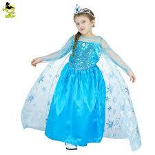 Elsa Halloween Costume Adults Cheap Elsa Dress Teen Costumes Aliexpress
