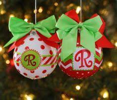 monogrammed ornaments ideas monograms ornament