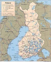 amazoncom finland political map 36