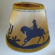 small l shades for chandeliers uk vintage western l shade cowboy horses desert gold fabric small