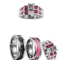 Wedding Rings Sets His And Hers by Tungsten Engagement And Wedding Ring Sets Ebay
