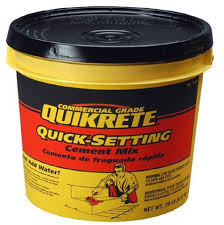 Furniture How To Setting Lowes Shop Quikrete Quick Setting 20 Lb Cement Mix At Lowes Com