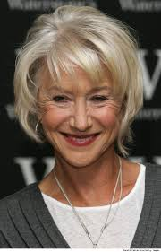 short fine hair older women helen mirren u2013 british actress