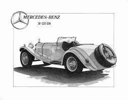 antique mercedes mercedes benz 228 ssk jgoebelart foundmyself