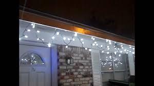 solar panel christmas lights solar powered christmas lights 350 led youtube