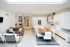 contemporary open floor plans open floor plans a trend for modern living bright white plan