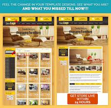 sell home interior products custom ebay auction listing template in yellow wooden theme ebay