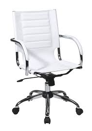 White Office Desks Amazon Com Work Smart Ave Six Trinidad Office Chair With Fixed