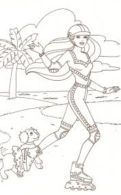 116 best barbie images on pinterest barbie coloring pages
