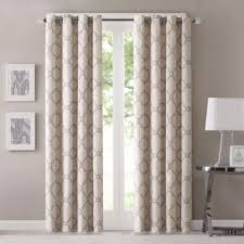 How To Measure For Grommet Curtains Buy 108 Inch Curtain Panels From Bed Bath U0026 Beyond