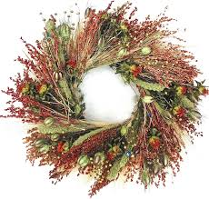 beautiful bird feeder decorative wreath 22 inch