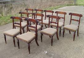Regency Dining Chairs Mahogany Antique Furniture Warehouse Set Of Ten Georgian Chairs Set Of