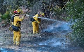 thomas fire surges in santa barbara county sfgate