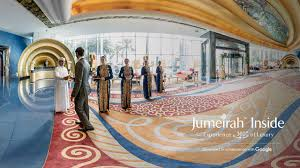 burj al arab hotel jumeirah and google collaborate to build an interactive experience