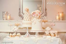 Wedding Cake Table Peach Wedding Cakes Cake Geek Magazine