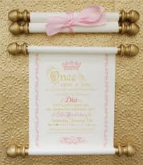 scroll invitations best 25 scroll invitation ideas on princess birthday