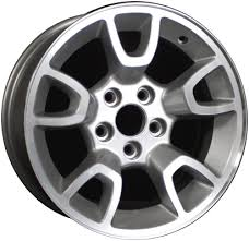 aly3667 ford ranger wheel silver machined 7l5z1007p