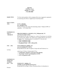 Resume Samples Retail Management by Example Resume For Sales Position