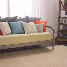 furniture oatmeal burlap mattress daybed mattress cover for your
