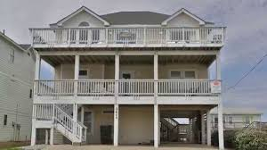 sand baggers beach house 1105 semi oceanfront vacation home in