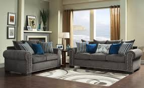 cheap sofa and loveseat sets charlotte transitional chenille grey sofa with modernccentnd