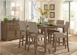 Liberty Dining Room Sets Jofran Antique Gray Ash 7 Piece Dining Room Set Efurniture Mart