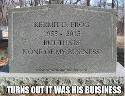 headstone maker kermits headstone imgflip