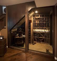 basement homes home basement wine cellar cave rustic basement