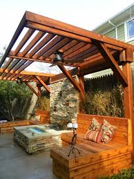 Pergola Backyard Ideas 596 Best Fence Deck U0026 Patio Ideas Images On Pinterest