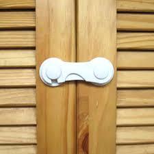 Kitchen Cabinet Door Locks New Arrival Child Safety Lock Handle Kitchen Cabinet Door