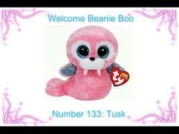 beanie boo kingdom beanie boo number 133 tusk