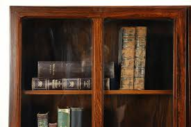 Glass Bookcases With Doors by Bookcases With Doors And Glass Bookshelf With Doors Glass Mid