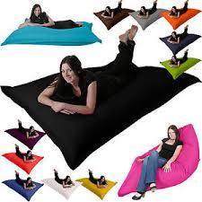 Beanbag Bed Xxl Floor Cushion Giant Beanbag Garden Lounger Bean Bag Bed Indoor
