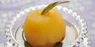 vervenne cuisine pomme pochée à la verveine facile et pas cher recette sur cuisine